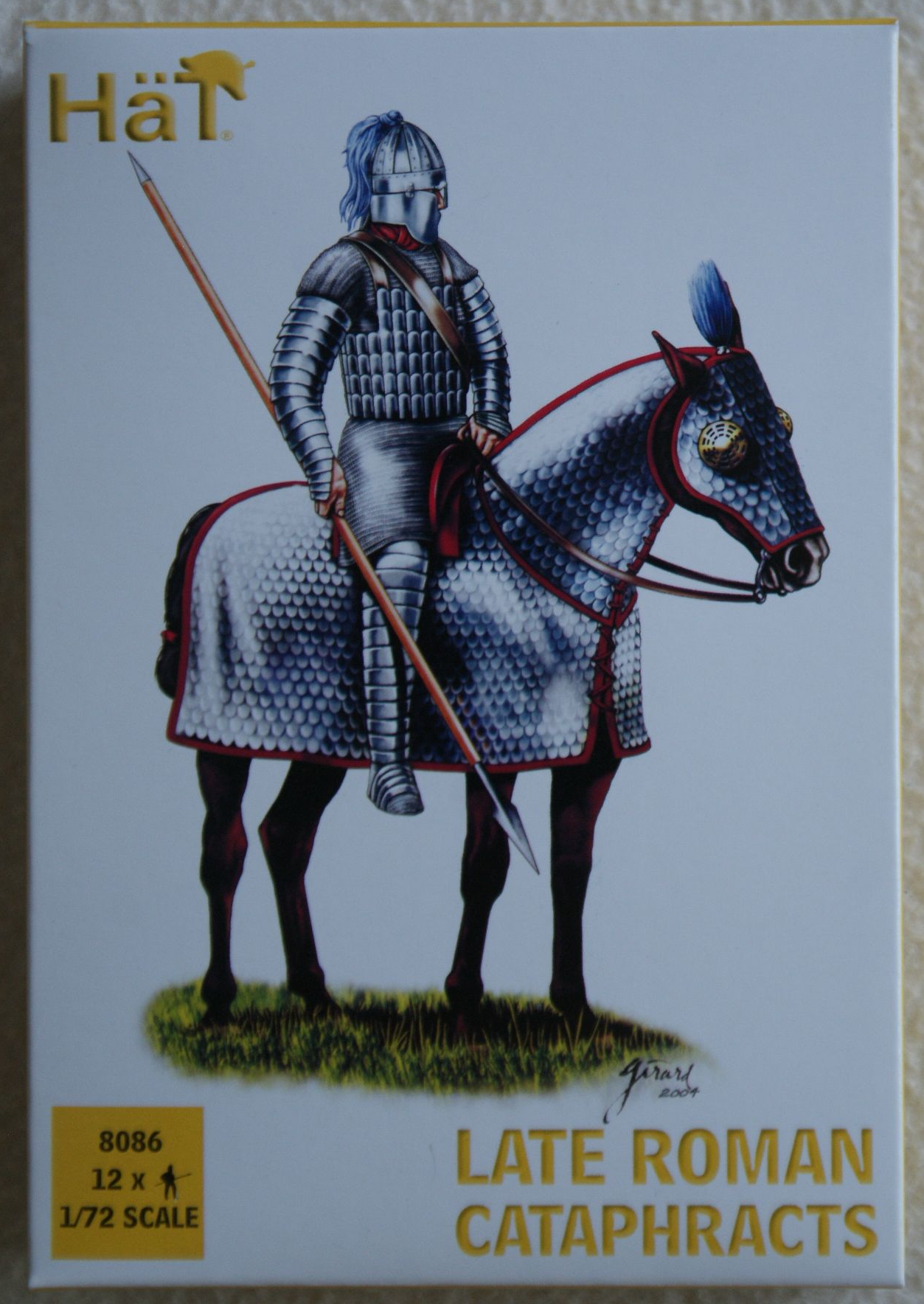 Late Roman cataphracts 1:72 Hat 8086